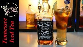 Bebidas con Jack Daniels - Coctel Tennessee Iced Tea