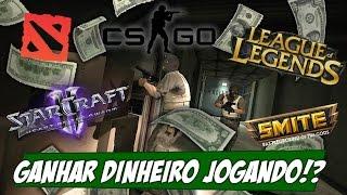 Como ganhar dinheiro jogando video game? Top 5 jogos que PAGAM MAIS
