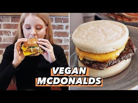 Vegan McDonalds in LA