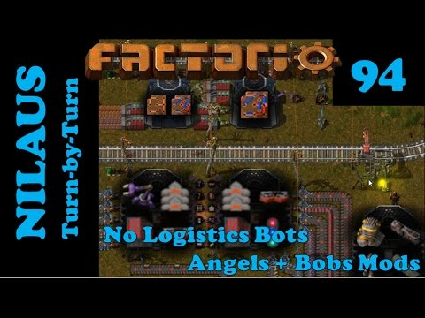Factorio S6E94 - Converting the most complicated Logistic Train Stations