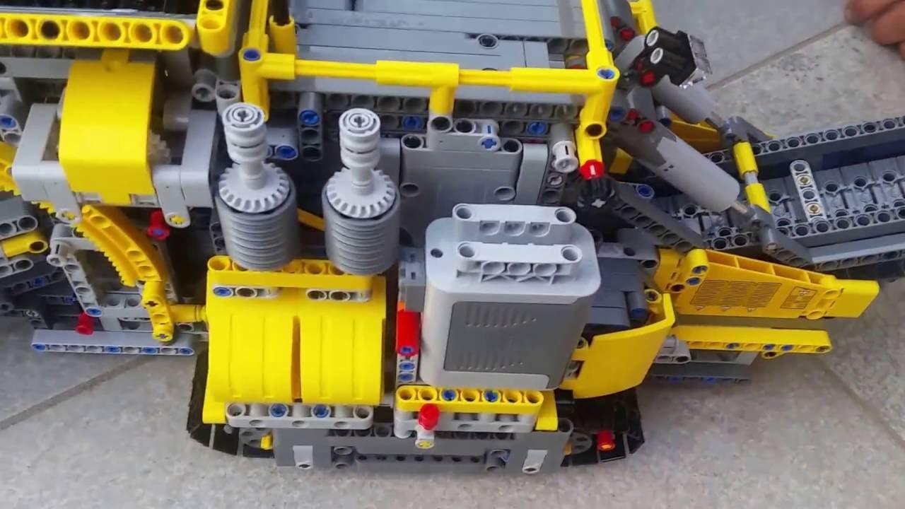 Lego Technic 42055 B Model Mobile Aggregate Processing Plant Youtube