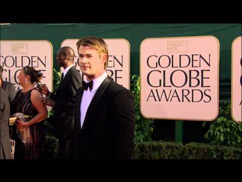 Chris Hemsworth Fashion at the Golden Globes 2011