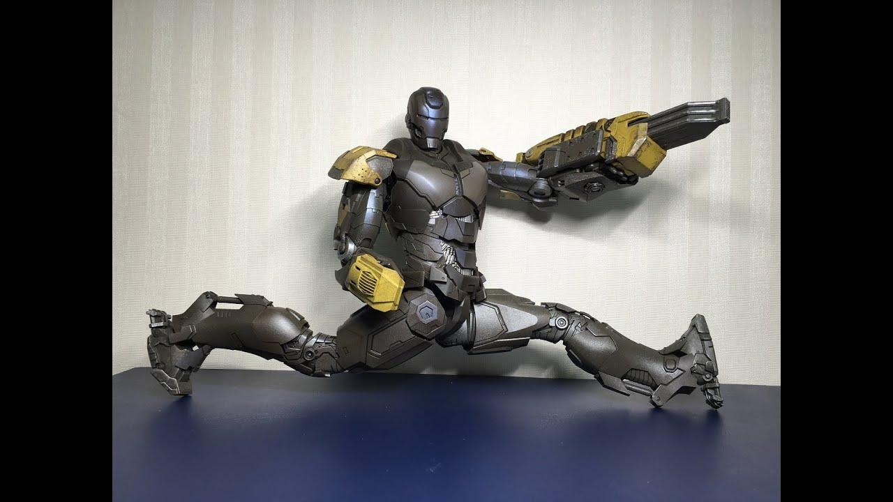 MARK 25 Striker from Iron Man 3 - YouTube