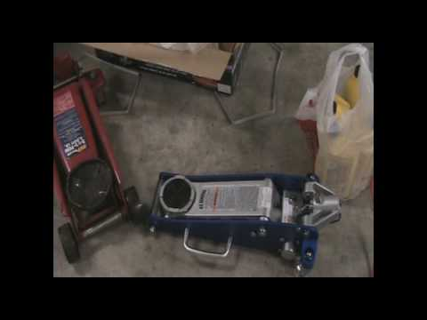 Harbor Freight Aluminum racing jack review with unboxing ...
