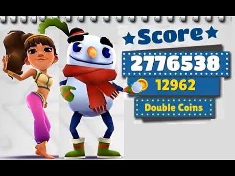 Subway Surfers Las Vegas VS Winter Holiday iPad Gameplay for Children HD #216