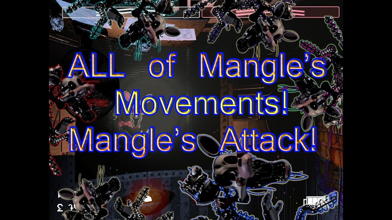 Mangle s attack five nights at freddy s 2 tracker youtube