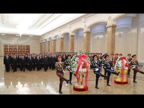 DPRK pays respect to Kimg Jong Il in Pyongyang