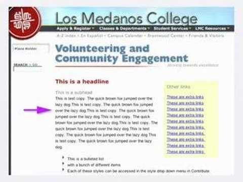 Adobe Contribute CS3 with LMC website