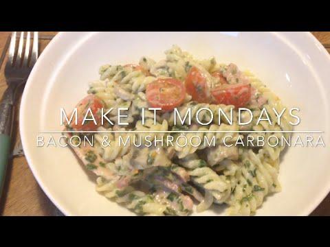 Slimming World Recipes Syn Free | Bacon & Mushroom Carbonara