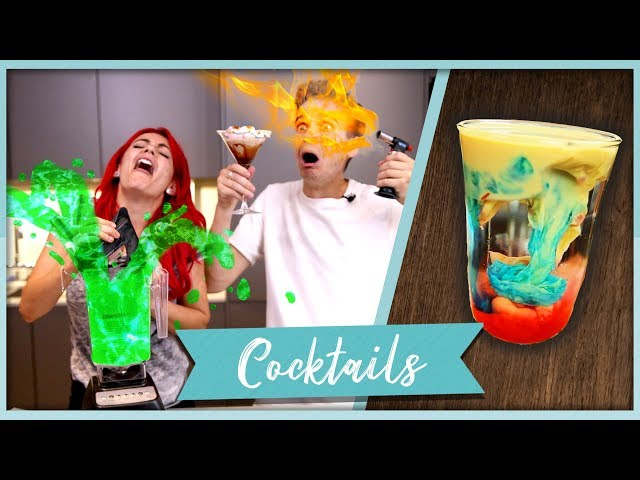 MAKING THE INTERNET'S CRAZIEST COCKTAILS