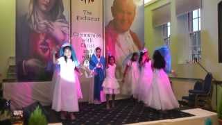 MALAYALAM CHRISTIAN DEVOTIONAL KIDS DANCE Prayer Dance For Catechism Anniversary