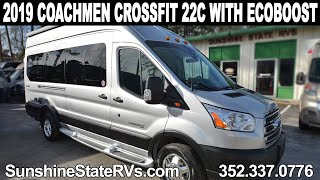 2019 Coachmen Crossfit 22C EcoBoost Class B RV ft. PROAIR™ AC System