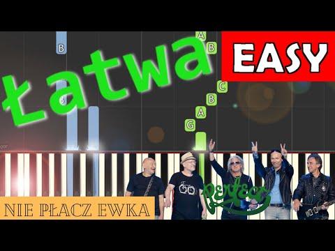 🎹 Nie płacz Ewka (Perfect) - Piano Tutorial (łatwa wersja) 🎹
