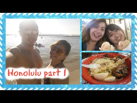 Honolulu Trip 2017 Part 1