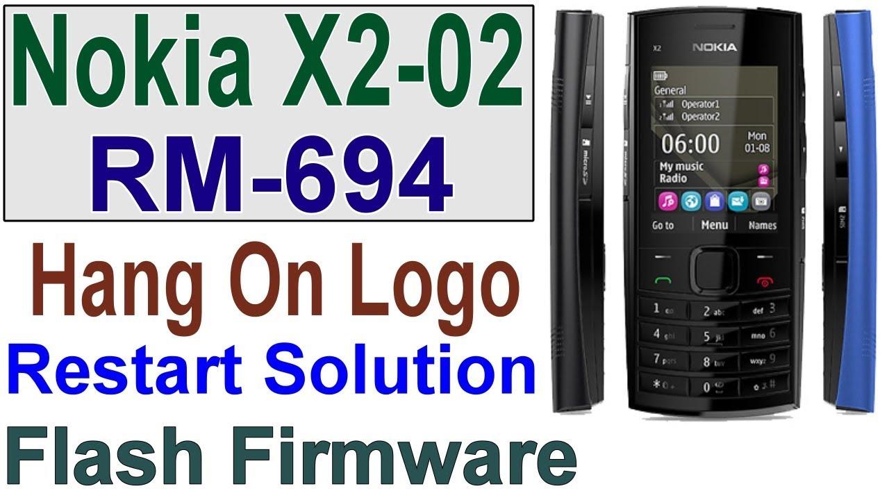 How To Flash Nokia X2-02 RM-694, Hang On Nokia, Stuck on Start