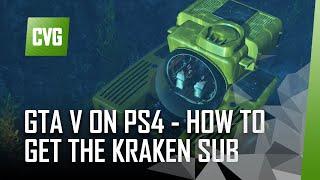 GTA 5 on PS4 - How to Find the Kraken Sub (wildlife challenge guide)