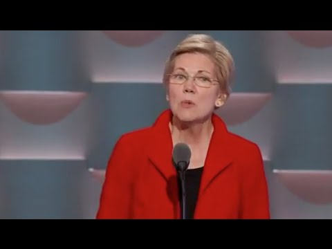 FULL: Elizabeth Warren on the war path against Donald Trump at Democratic National Convention