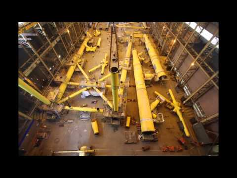 Oil & Gas Time Lapse Jacket Fabrication
