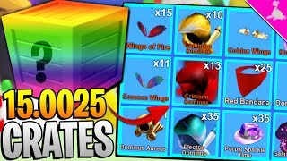 I OPENED 1 CRATE FOR EVERY PLAYER IN ROBLOX MINING SIMULATOR!