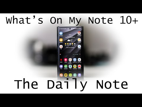 What's On My Android Galaxy Note 10+, Recommended Widgets, Utilities, Productivity Apps, And Games