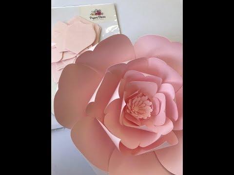 Sneak Peek at paper flower kits by PaperFlora