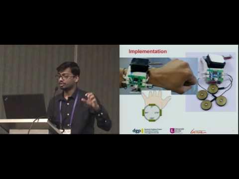 Direct Manipulation in Tactile Displays