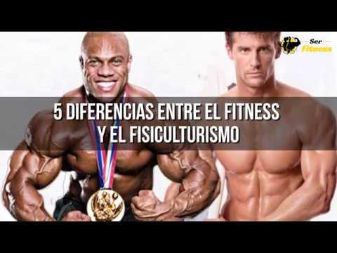 Diferencias entre Fitness y Culturismo