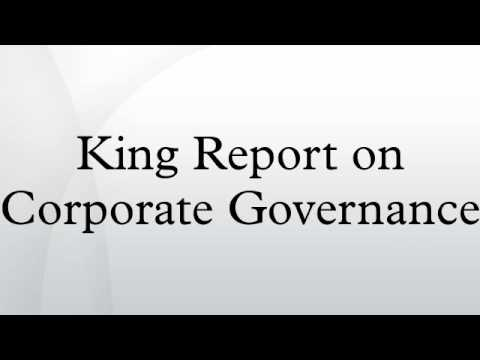King Report on Corporate Governance