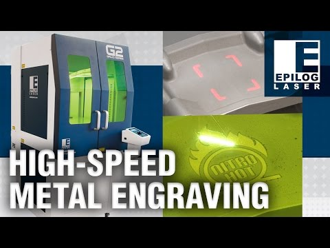 Epilog G2 - High-Speed Metal Etching