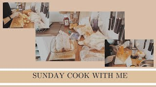 SUNDAY COOK WITH ME | Meal prep | Baby food