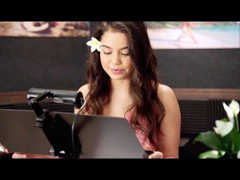 Oceania - La voce delle isole - Il cast di Moana - Featurette