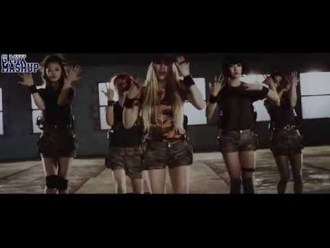 SHADES OF K-POP (K-POP MEGA MASHUP 2014 - 39 Songs In One)