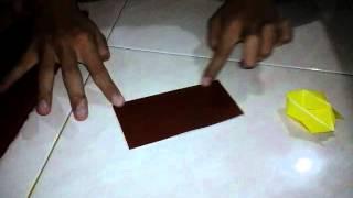 cara membuat helikopter dari kertas origami (AZIS X LAS)