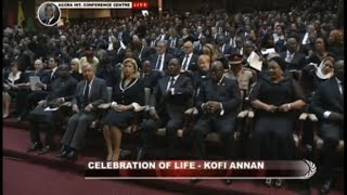 World leaders attend Kofi Annan's state funeral in Ghana