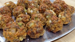 Southern Sausage & Cheese Balls -- How-to Video