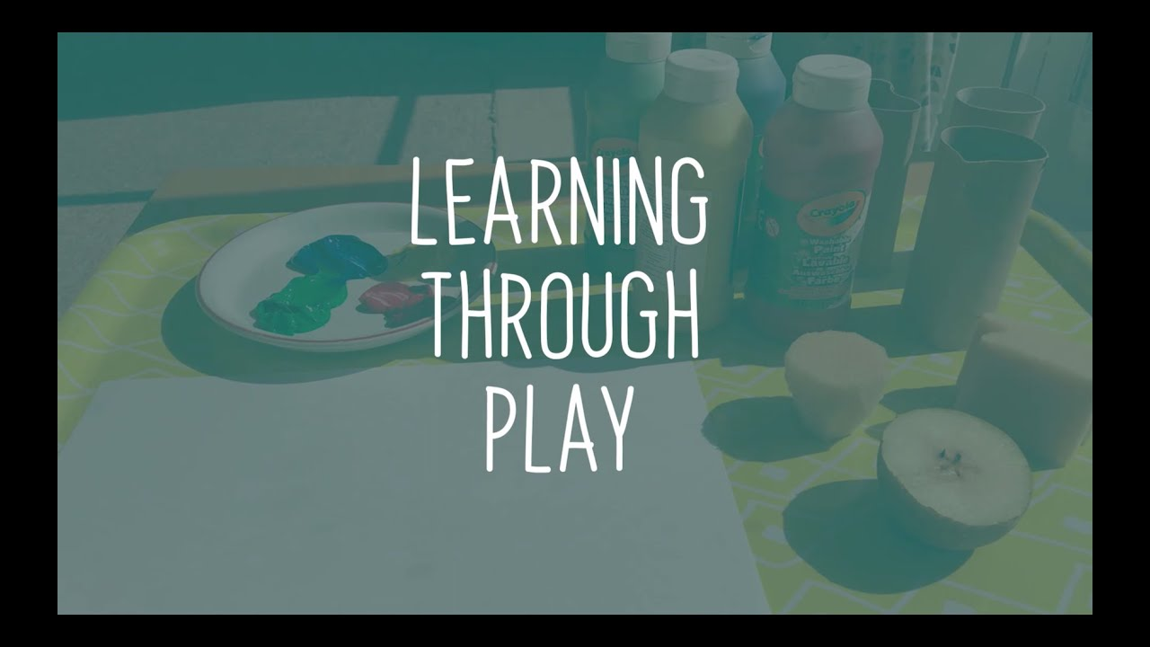Learning Through Play - film series of activities for early years children at home