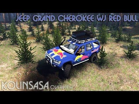 Jeep Grand Cherokee WJ Red Bull