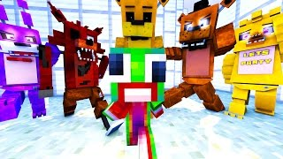 Minecraft Daycare - FNAF ANIMATRONICS TAKEOVER!