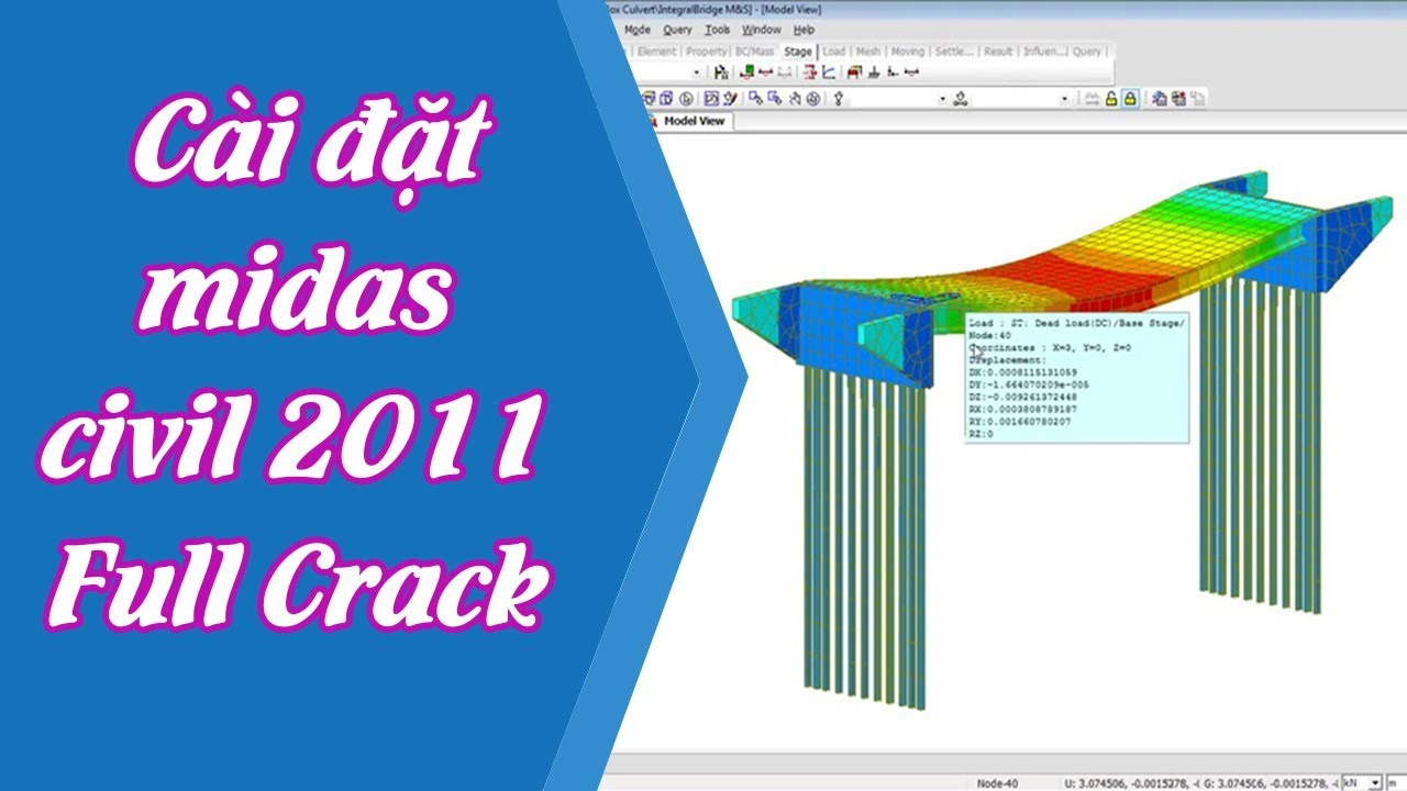 midas civil 2011 lock is not detected