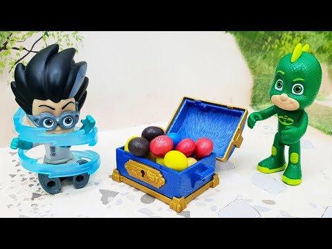 Новые мультики про машинки 2019 года с игрушками Герои в масках - Волшебный сундук!