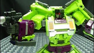 JinBao KO Upscaled Generation Toy BULLDOZER (BoneCrusher): EmGo's Transformers Reviews N' Stuff
