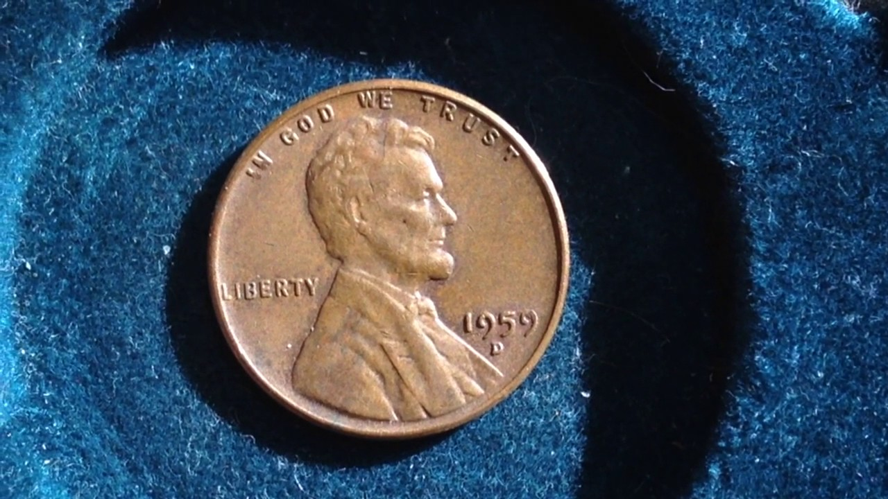 1959 D Lincoln Penny- Mintage 1 3 Billion (transitional year- look out for  error coins)