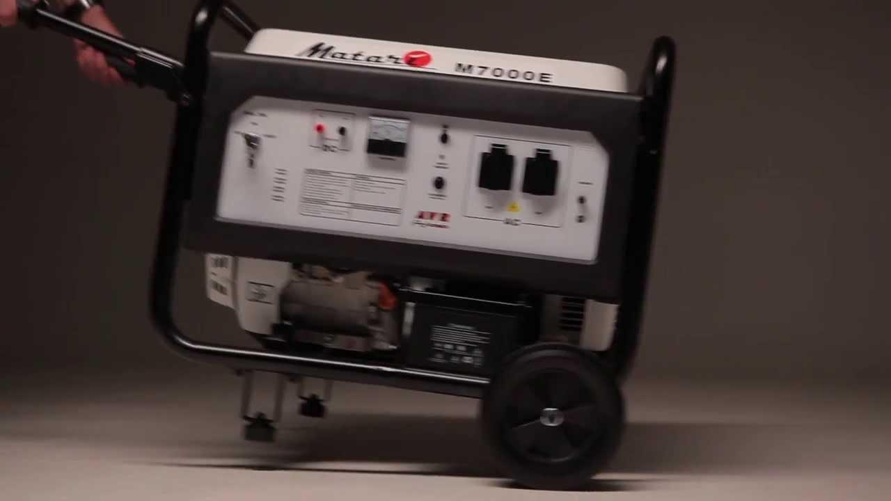 Обзор Бензиновый генератор Kolner KGEG 5500 - YouTube