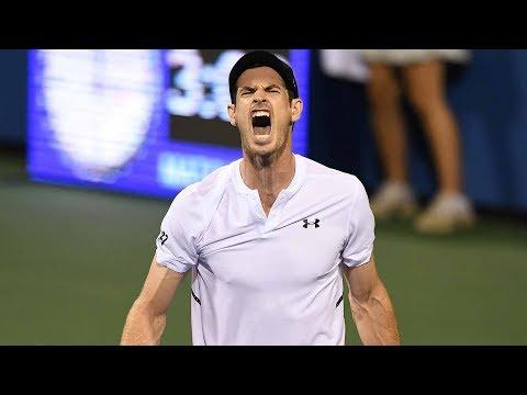 Highlights: Emotional Murray Comes Back To Reach Washington QF 2018