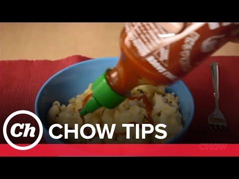 Turn Leftover Sriracha into Chili Oil - CHOW Tip