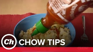 Turn Leftover Sriracha into Chili Oil - CHOW Tip