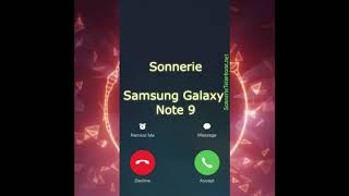 Sonnerie Samsung Galaxy Note 9 mp3 grauite pour telephone