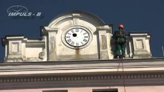 ZŠ Krupka, fasádní hodiny