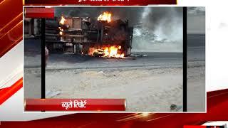 हनुमानगढ़ ट्रक और पिकअप की भिडंत tv24