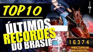 TOP 10 Recordes brasileiros de 3 Tambores!